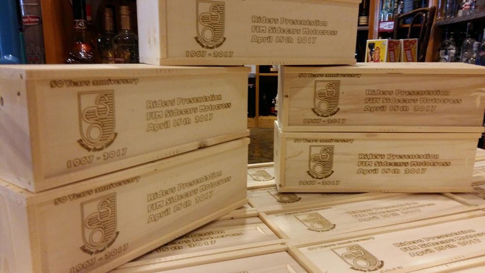 Lasergraveren van wijnkisten & houten verpakkingen